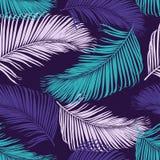 Картина моды тропическая безшовная Иллюстрация вектора