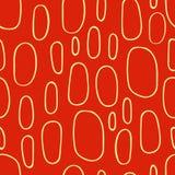 Картина нарисованная рукой безшовная с многоточиями Стоковое Фото