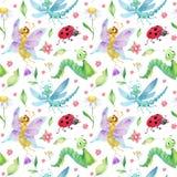 Картина насекомых Стоковые Фото