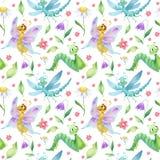 Картина насекомых Стоковые Изображения RF