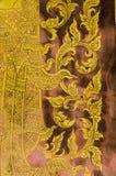 Картина настенной росписи Тайск-стиля Стоковая Фотография RF