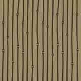 Картина нашивки японского стиля бамбуковая Стоковое фото RF