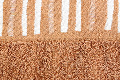 Картина на коричневых полотенцах. Стоковое Изображение