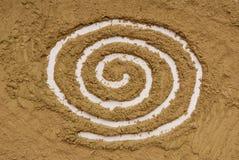Картина на хне Стоковое Изображение RF