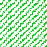 Картина незаконного зеленого цвета зигзага геометрическая безшовная бесплатная иллюстрация