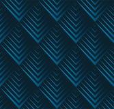 Картина неровного края безшовная геометрическая Вектор повторяя текстуру с треугольниками squama стоковое изображение rf