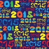 Картина Нового Года безшовная Стоковое фото RF
