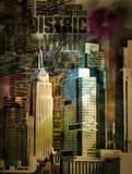 Картина Нью-Йорка иллюстрация штока