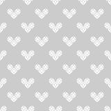 Картина дня валентинки St черно-белая Стоковая Фотография RF