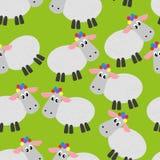 Картина овец Стоковое фото RF