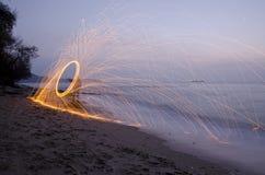Картина огня Стоковая Фотография RF