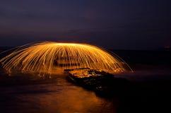 Картина огня Стоковые Изображения RF