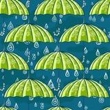 Картина дождя осени Стоковое Изображение