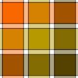 Картина оранжевой хаки шотландки проверки цвета болота безшовная бесплатная иллюстрация
