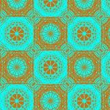 Картина орнамента контраста безшовная Стоковые Фотографии RF