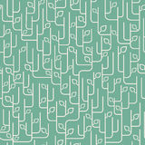 картина орнамента листьев безшовная Стоковая Фотография