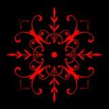 картина орнамента Стоковые Фотографии RF