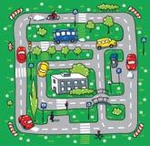 Картина дороги Стоковое Изображение