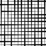 Картина отверстия щетки - солдат нерегулярной армии пересекая прямые линии Monoc Стоковая Фотография
