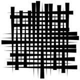 Картина отверстия щетки - солдат нерегулярной армии пересекая прямые линии Monoc Стоковое Изображение RF