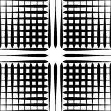 Картина отверстия щетки с линиями сложной формы - плавно repeatable Стоковое Изображение RF