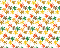 Картина от листьев клена Стоковое Фото