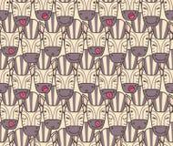 Картина от намордников зебры Стоковая Фотография RF