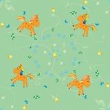 Картина лошади Иллюстрация вектора