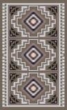 Картина одеяла американских индейцев племенная Стоковые Фотографии RF