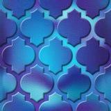 Картина панели внутренней стены - абстрактный материал украшения - арабское оформление - геометрические картины стоковое фото