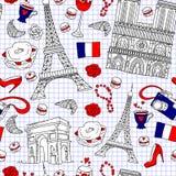 Картина Парижа Стоковое фото RF