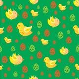 картина пасхи цыпленка Стоковая Фотография