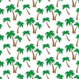 Картина пальм Стоковое Изображение RF