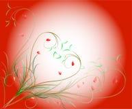 Картина переченей и листьев Стоковая Фотография RF