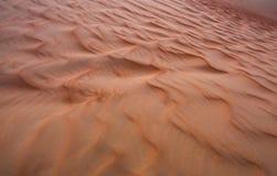 Картина песчанных дюн пустой квартальной пустыни Стоковые Фото