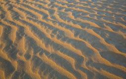 Картина песчанных дюн пустой квартальной пустыни Стоковое фото RF