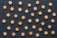 Картина печений звезд форменных Стоковые Изображения RF
