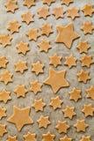 Картина печений звезд форменных Стоковая Фотография RF