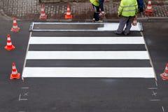 Картина пешеходного перехода Стоковое фото RF