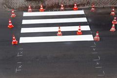 Картина пешеходного перехода Стоковая Фотография