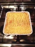 Картина пирога коттеджа зажаренная показом Стоковые Фото
