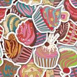 Картина пирожного Стоковое Изображение