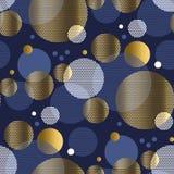 Картина планеты круга концепции безшовная Стоковое Фото