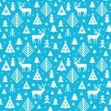 Картина поводов рождества Kntted иллюстрация вектора