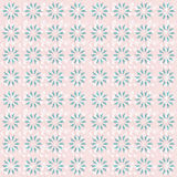 Картина повторения флористических обоев Стоковые Изображения