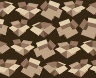 Картина, показывая картонные коробки Стоковые Фото