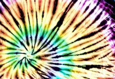 Картина покрашенная связью на предпосылке конспекта хлопко-бумажной ткани Стоковое Фото