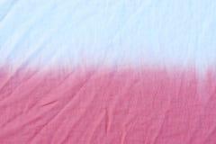 Картина покрашенная связью на хлопко-бумажной ткани для предпосылки Стоковое Изображение RF