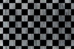 Картина покрашенная серебром квадратная Стоковое Изображение