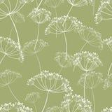 Картина полевых цветков Стоковое Изображение RF